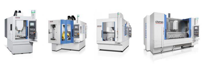 CHIRON FZ08 MT, FZ12 FX (FLEXCELL UNO cellával), DZ18 W és MILL 2000 szerszámgépek ©Direct Industry