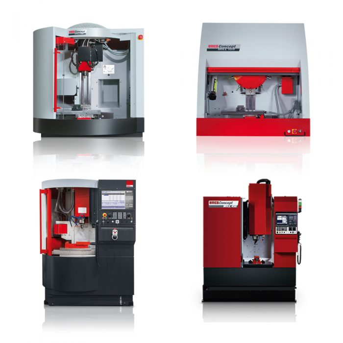 EMCO CONCEPT marógépek: CM 55, CM 105, CM 260 és CM 450 © EMCO GmbH