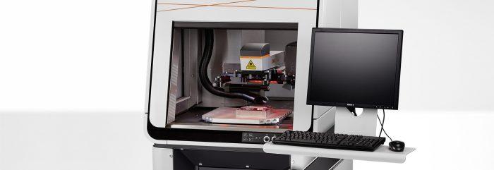 A FOBA M2000 lézeres jelölő munkaállomás vezérlő panelje, © FOBA Laser Marking + Engraving (ALLTEC GmbH)