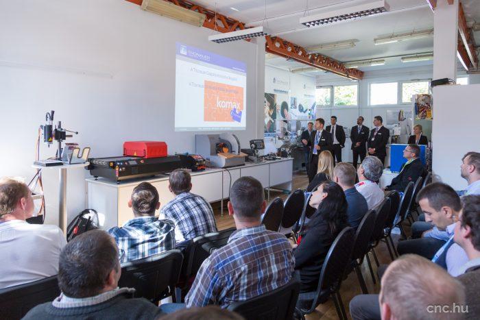 Alföldy-Boruss Áron ügyvezető köszöntötte a résztvevőket.