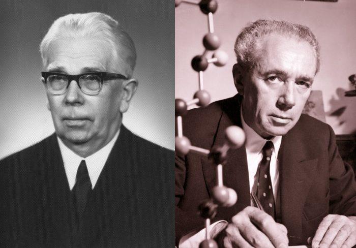 2. ábra: Karl Ziegler (1898-1973) és Giulio Natta (1903-1979) Nobel-díjas kémikusok