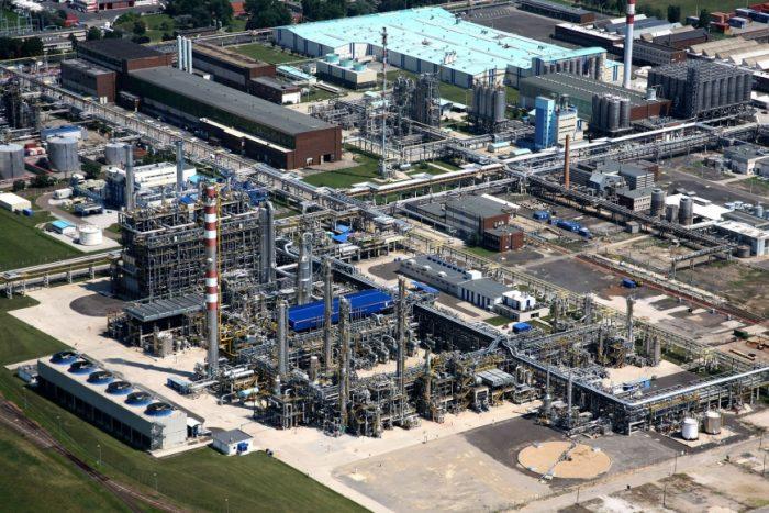 4. ábra: A MOL Petrolkémiai Zrt. tiszaújvárosi üzeme