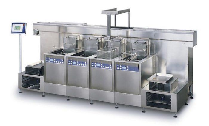 3. ábra: Ipari ultraszonikus tisztítóberendezés