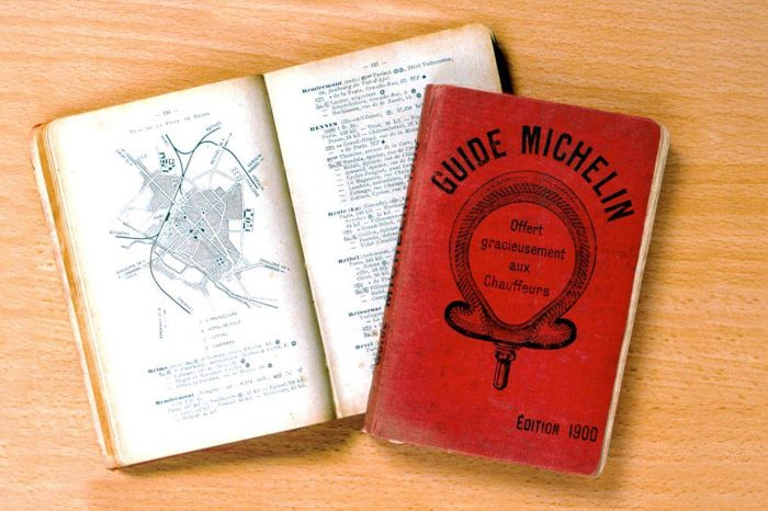 6. ábra A Guide Michelin első kiadása