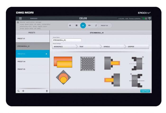 A Robo2Go a fejlesztett Robo2Go App-on keresztül programozható.