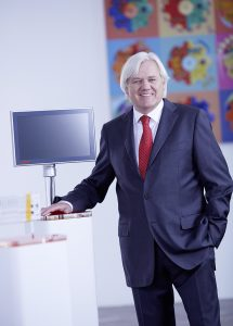 Hans Beckhoff, a Beckhoff Automation GmbH & Co. KG ügyvezető igazgatója