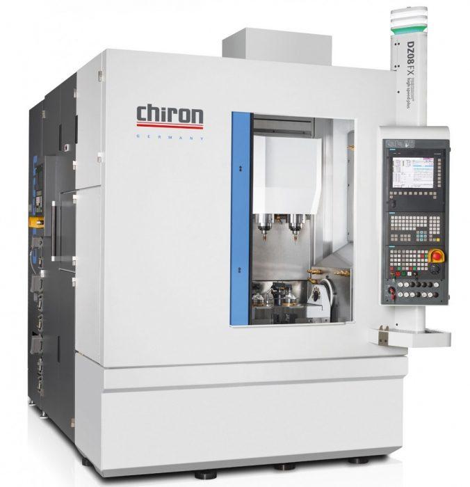 Az új ikerorsós DZ08 FX Precision+ gépet kopásmentes lineáris hajtásokkal szerelték fel