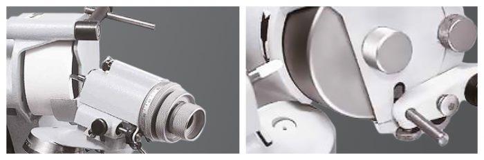 ISOG S0 osztófej és zárt védőburkolat kőlehúzáshoz