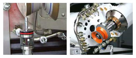 Infravörös mérőtapintó és hűtőfolyadék füzér ISOG S20, S22 és S24 gépekhez