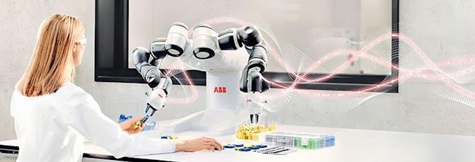 YuMi, az első emberekkel együttműködő, kétkarú ipari robot