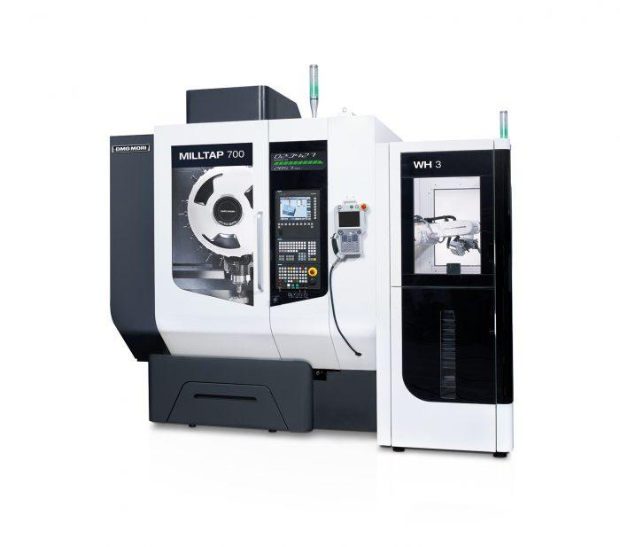 A MILLTAP 700 extrém merevsége, nagy orsósebessége és intelligens hűtőrendszere lehetővé teszi a titánium csontlemezek hatékony megmunkálását - akár emberi interakció nélkül, a WH3 munkadarab-kezelő rendszer segítségével.