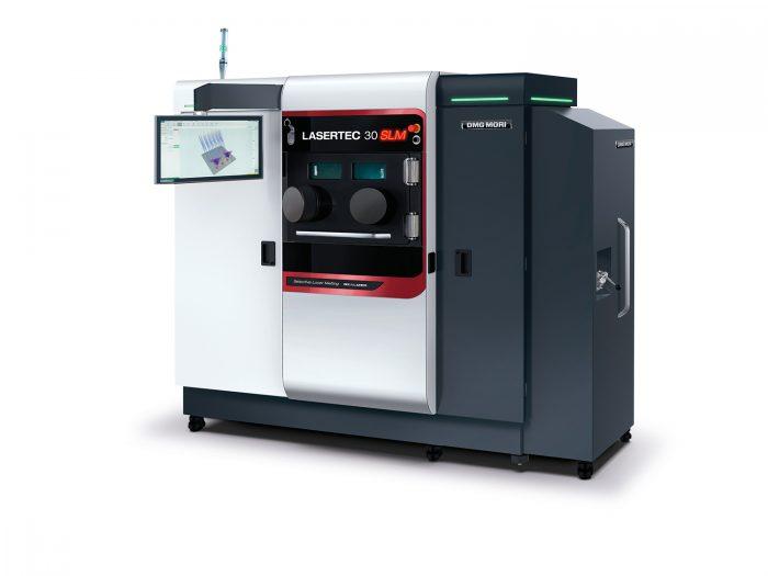 A porágyas technológiát alkalmazó LASERTEC 30 SLM orvostechnológiai alkatrészek hatékony additív megmunkálását teszi lehetővé.