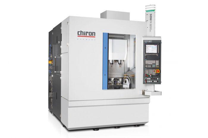 A CHIRON bemutatja a kétorsós DZ08 FX PRECISION+-t, amellyel az öttengelyes megmunkálások a lehető legrövidebb idő alatt végezhetők el.