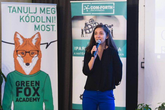 Barath Barbara, a Green Fox Academy vezetőhelyettese