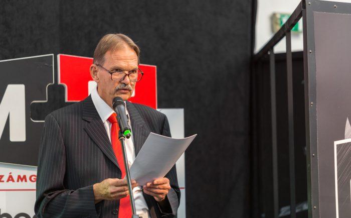Barhács István, az M+E Szerszámgép Kereskedelmi Kft. társtulajdonosa