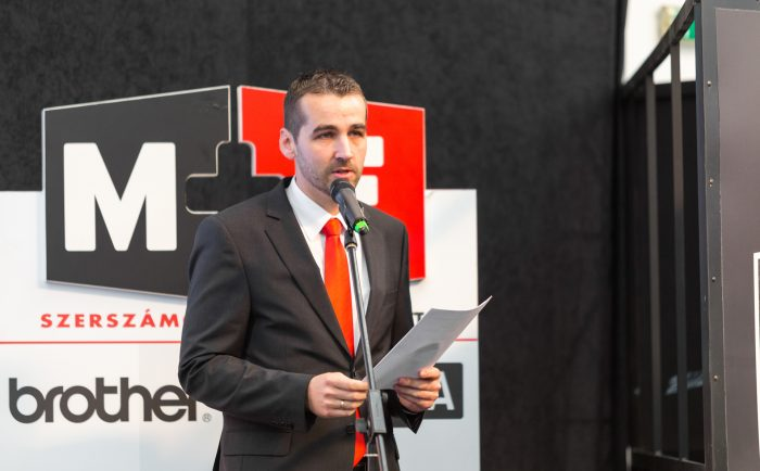 Péter Szabolcs, az M+E Kft. ügyvezetője