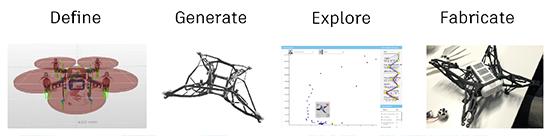 Dreamcatcher-munkafolyamat. A kép az Autodesk tulajdona.