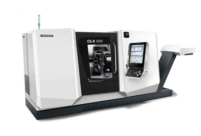 A CLX 550 480 mm-es átmérőig és 1,225 mm munkadarabhosszig képes az esztergálási műveletek elvégzésére, mindezt csupán 7.4 m2-es helyigénnyel.