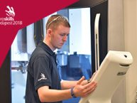 EuroSkills Gothenburg 2016 Team UK   Ethan Davies- CNC Milling