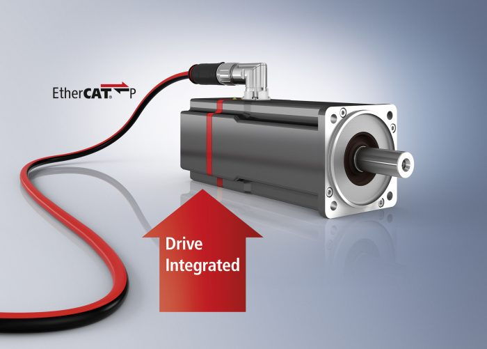 Elosztott szervohajtásrendszer EtherCAT P egykábeles megoldással. Az új AMP8000 ideális alap kisméretű, teljes körűen moduláris gépek építéséhez.