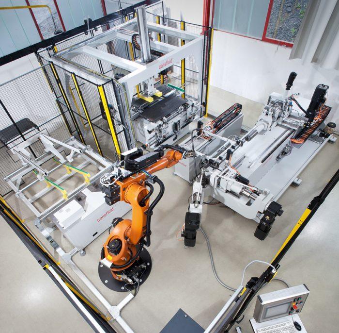 transfluid-Roboter-biegen