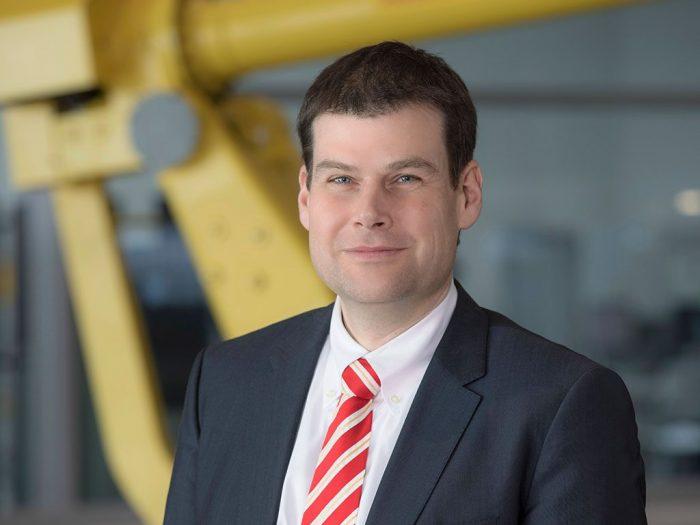 Matthias Fritz, a FANUC Deutschland GmbH technológiai ügyvezető igazgatója | A kép forrása: FANUC