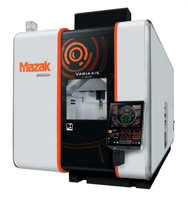 A MAZAK 5 tengelyes többszörösen bonyolult felület megmunkálására készült megmunkálóközpontjának legújabb generációja rövidebb folyamatidőt, nagy pontosságot és egyedülálló ergonómiát biztosít. Páratlanul nagy sebesség és pontosság. Max. orsófordulatszám 12 000 1/min (opció: 18 000 1/Min, 30 000 1/min) A legnagyobb munkatér: asztalméret Ø 500 mm (i-500), Ø 600 mm (i-600), Ø 700 mm (i-700), Ø 800 mm (i-800).