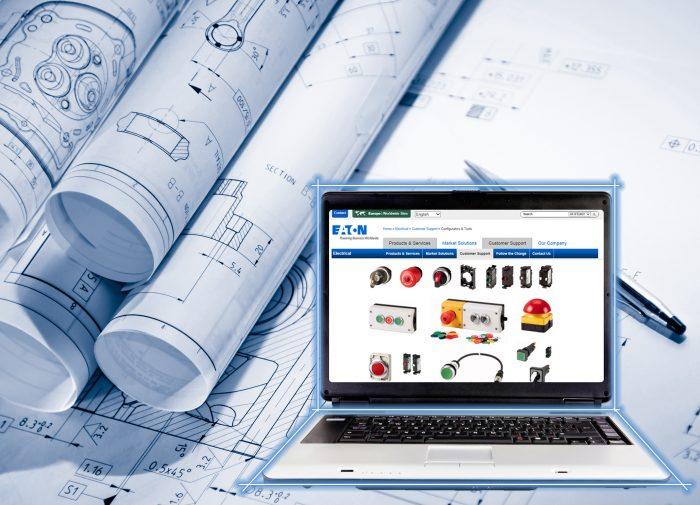 Működtető készülékek egyszerű kiválasztása és tervezése az Eaton nyomógomb-konfigurátorával