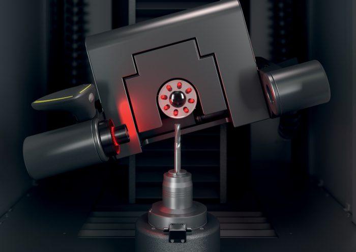 A billenthető multiszenzoros optikatartó, az orthoScan segítségével a gép precízen és µm-pontossággal méri az értékeket az emelkedéses szerszámoknál is.