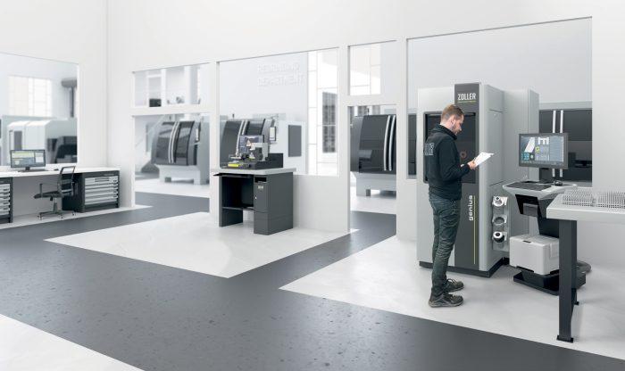 A folyamatban részt vevő valamennyi rendszer hálózatba kapcsolásával optimálisan kihasználható a Zoller-mérőgépekben rejlő összes lehetőség